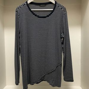 Banana Republic Long Sleeve Striped Tee